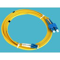 1M , 3M , 5M , Duplex Fiber Optic Patch Cord LC-SC Single Mode