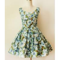 Buy cheap 1950s retro print waist dress / tutu dress from wholesalers
