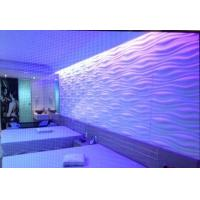 Buy cheap Vinyl 3d Wall Panel Colored PVC Wall Coverings for Indoor Screen Laminated Wall from wholesalers