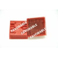 Buy cheap Red Nylon Bristles Blocks Bristle Brushes For Lectra Cutter VT2500 from wholesalers