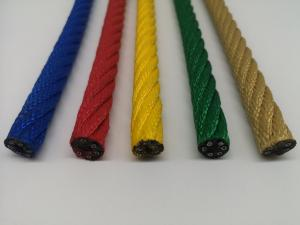 Buy cheap 16mm  Playground  Combination rope--Various Color-Excellent U.V.protection product