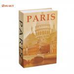 Buy cheap Lightweight Home Book Design Hidden Digital Lock Metal Cash Box from wholesalers