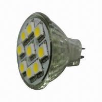 Buy cheap MR11 LED Light, 6,000 to 6,500K Cool White with 12V DC Input Voltage from wholesalers