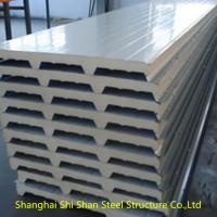 Buy cheap Eco Friendly EPS Sandwich Panel , Light Weight Structural Insulated Wall Panels from wholesalers