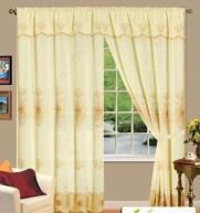 Buy cheap POLYESTER CURTAIN WITH EMBROIDERED PATTERENS from wholesalers