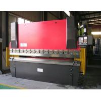 Buy cheap 3000 KN Nominal Pressure  WC67Y Hydraulic CNC press brake for sheet metal work from wholesalers