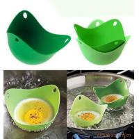 Buy cheap Newest International Standard Silicone Egg Cooker Silicone Egg Poacher Pod Egg Boiler from wholesalers