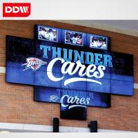 Buy cheap retail store electronic lcd video wall advertising screens from wholesalers