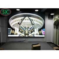 Buy cheap P4 Indoor Led Advertising Screen Full Color With 2200 Cd/Sqm , 256mm X128mm Size from wholesalers