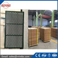 Buy cheap Brandt SWACO high quality steel frame oil shale shaker screen / frame vibrating sieving wire mesh with API Q1 certificat from wholesalers