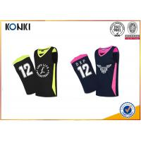 Buy cheap Mesh Fabric Custom Sports Apparel Basketball Uniform For Adults Womens / Men from wholesalers