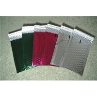 Buy cheap Laminated Colorful Metallic Bubble Mailers For Delivery Industry 345x465mm #K from wholesalers