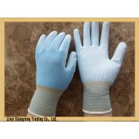Buy cheap 13 guage seamless knitted nylon glove with pu coated from wholesalers