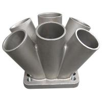 Buy cheap 304 Stainless Steel Metal Casting Spike Turbo Header Manifold Merge Collector T3 T4 from wholesalers