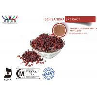Buy cheap Liver Health Schizandra Berry Extract , High Purity Schisandra Fruit Extract from wholesalers