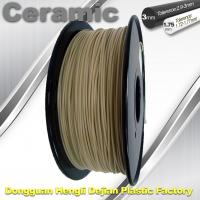 Buy cheap Surface Light / Ceramic Texture  3d Printing Filament Materials Plastic Strips product