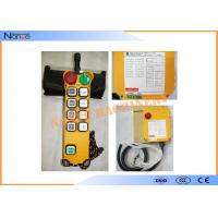 Buy cheap Crane Wireless Hoist Remote Control F21-8S Single Speed  Based Software from wholesalers