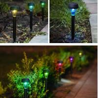 Buy cheap Solar Seven Color Changed Lawn Light pin lamp from wholesalers