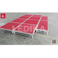 Buy cheap Elegant Outdoor Portable Show Stage Aluminum Stage Platform Aluminum Stage from wholesalers