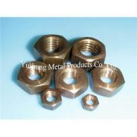 Buy cheap Silicon bronze nut from wholesalers