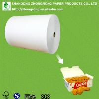 Buy cheap PE coated paper for chicken nuggets box from wholesalers