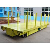 Buy cheap Metal plant transport trolley for steel or aluminum sheet handling on rail from wholesalers