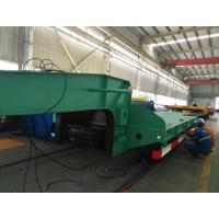 Buy cheap 60 Ton Large Cargo Low Bed Trailer Commercial Extendable For Truck Transport from wholesalers