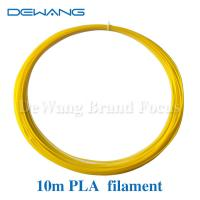 Buy cheap PLA - 10m - Yellow 1.75mm Plastic Filament / 3D printing pen filament from wholesalers
