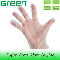 Buy cheap Medical Grade Examination Working CPE Disposable Gloves For Hospital FDA from wholesalers