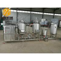 Buy cheap Pub / Home Beer Making Machine , Stainless Steel Mini Beer Brewery Equipment from wholesalers