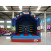 Buy cheap Hot Thomas Train Inflatable Bounce House Kids  Enjoyable Indoor Inflatable Bouncy Castle from wholesalers