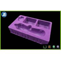 Buy cheap Cosmetic Packaging Inner Flocking Tray , Customized Plastic Blister Packaging product