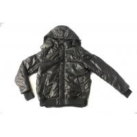 Buy cheap 2012 mens casual leather single face jacket with take off hood from wholesalers