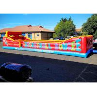 Buy cheap Inflatable Two Persons Bungee Run With Baketball Hoop For Inflatable Sports Games from wholesalers