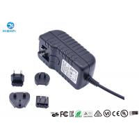 Buy cheap 12V 2A Multi Plug Interchangeable Plug Power Adapter For CCTV Camera Monitor product