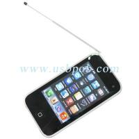 Buy cheap 3.4 inch Quad Band Dual Card Dual Standby iPhone Style TV Phone i93GS with WIFI product