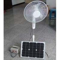 China DC/AC Solar Fan 16 inch Stand Air Cooling Fan 10W on sale