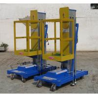 Buy cheap Industrial 9 Metrs Hydraulic Lift Platform , Insulative Heavy Duty Mobile Elevated Work Platform from wholesalers