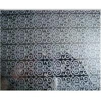 Buy cheap 304 4' x 8' Patterned Decorative Color Stainless Steel Sheet Ships Building from wholesalers