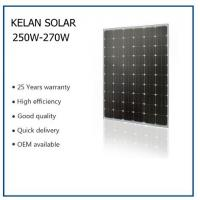 Buy cheap Residential Mono Solar Panels 156*156 Poly Solar Cell With Anti - Aging EVA from wholesalers