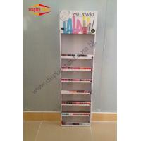 Buy cheap POS Free Standing Cosmetic Cardboard Display Stand / Custom Point Of Purchase Displays from wholesalers