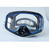 Buy cheap Single window Diving Mask with nose Purge Valve Silicone Skirt and Metal Frame for scuba diving and spearfishing from wholesalers