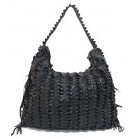 Buy cheap ladies patchwork lambskin leather shoulder bag facotry price from wholesalers