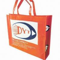 Buy cheap Nonwoven laminated bags with 16.14 x 1.18 inches handle size from wholesalers