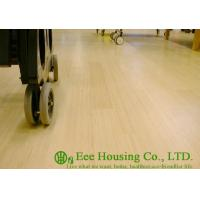 Buy cheap Natural Color Bamboo Flooring,Vertical-compressed Structure, General UV Varnish Coating from wholesalers