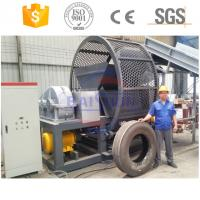 Buy cheap 100% seperation used tire recycling rubber powder making machine with CE from wholesalers