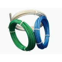 China Aircraft Vinyl Coated Steel Wire Rope UV Resistance For Fall Protection on sale