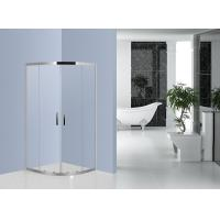 Buy cheap 800mm x 800mm Quadrant Shower Enclosure Stainless Steel EN12150 Certificated from wholesalers