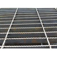Buy cheap Q235 Carbon Steel Bar Grating , Galvanised Steel Grating Flooring ISO9001 Approval from wholesalers