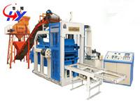 China HY-QM4-12 fly ash brick making machine on sale